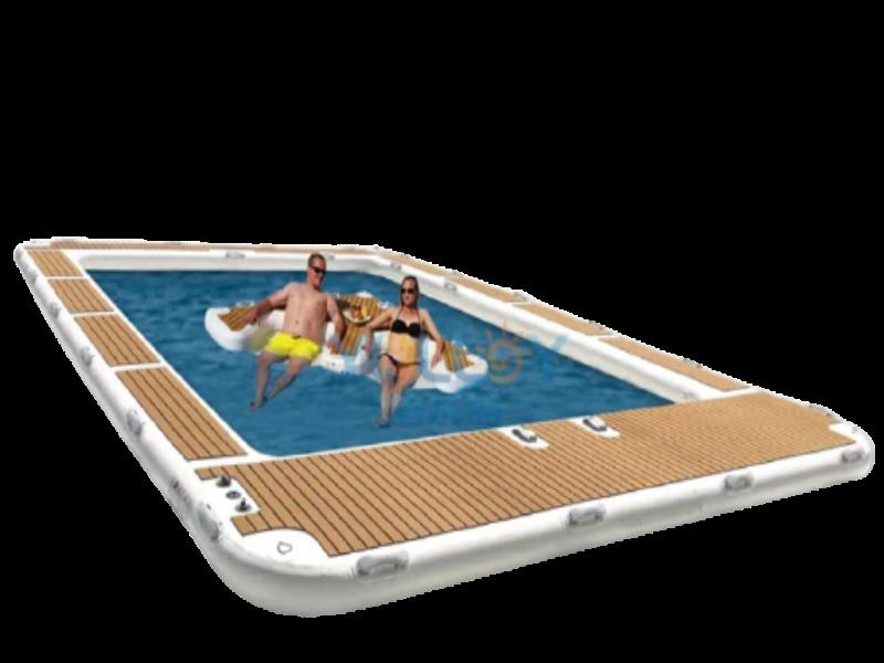 Nhận làm thiết bị bể bơi bơm hơi theo yêu cầu